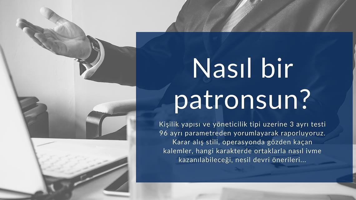 Patronaj Tipolojisi / Mustafa Emin Palaz